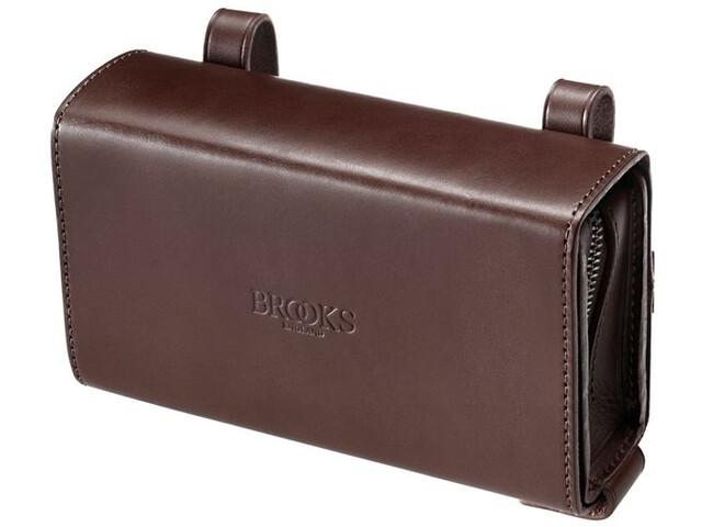 Brooks D-Shaped Sacoche de selle, brown